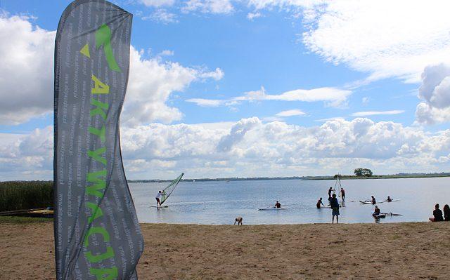 Beach flagi dla Aktywacja Agencja Reklamowa