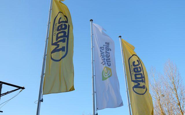 Flagi firmowe dla MPEC
