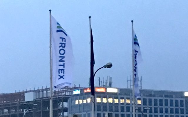 Flagi na maszt dla Frontex