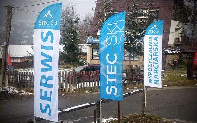 Flagi na stok narciarski - Stec-SKI