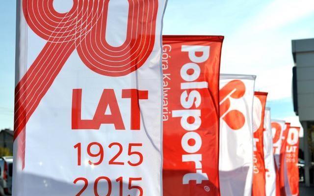 Flagi na zamówienie dla Polsport