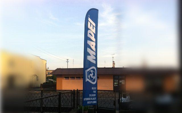 Windery reklamowe dla Mapei